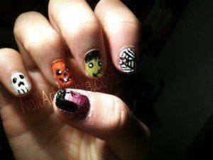 Halloween!  dans Nail art image-300x225