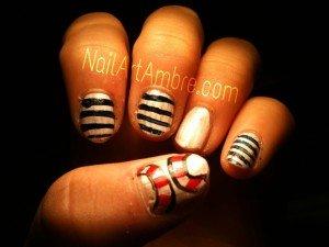 La Marinière sur les Ongles   dans Nail art image2-300x225